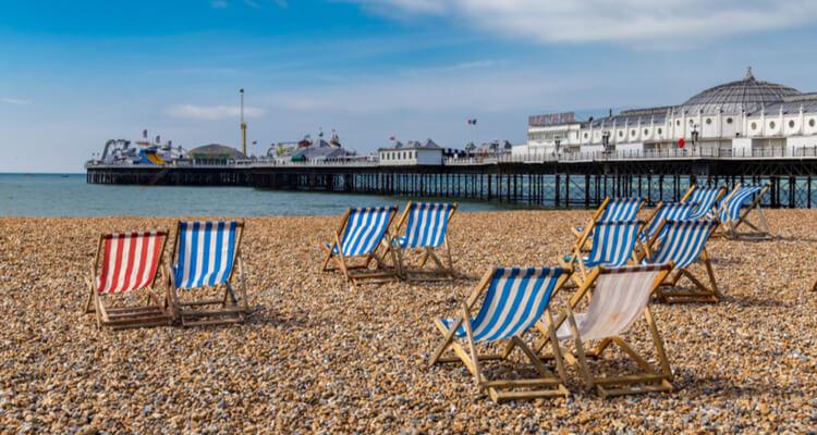 brighton england coast
